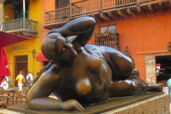 Reclining woman cartagena